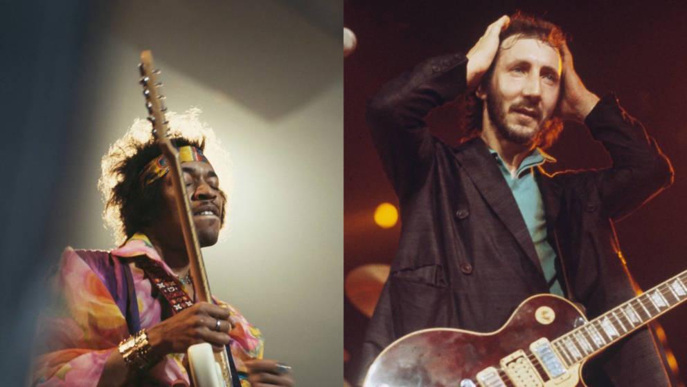 Pete Townshend könnte die Karriere von Jimi Hendrix entscheidend beeinflusst haben