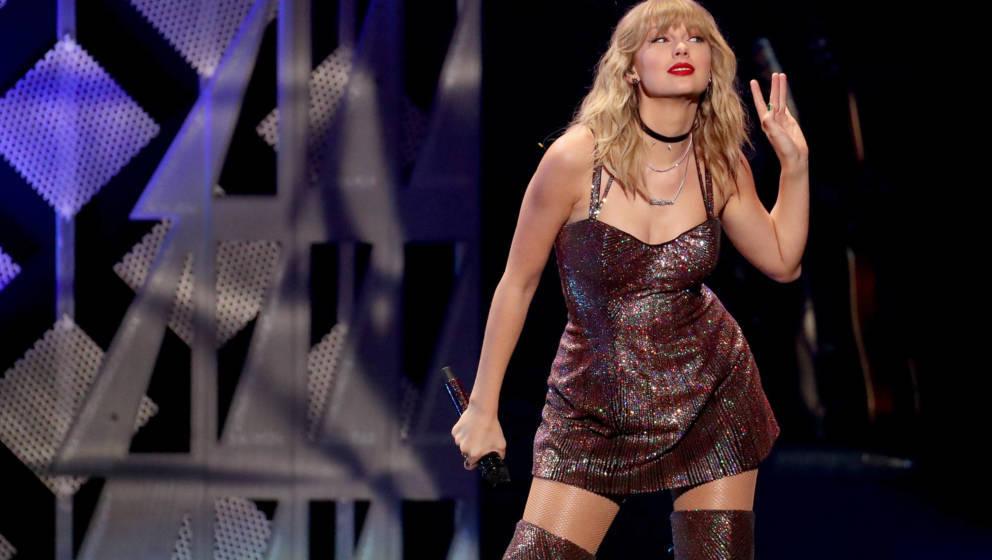 Talyor Swift live beim iHeartRadios Jingle Ball 2019