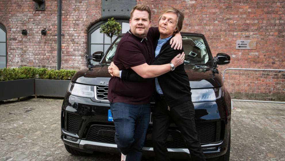 Paul McCartney und James Corden