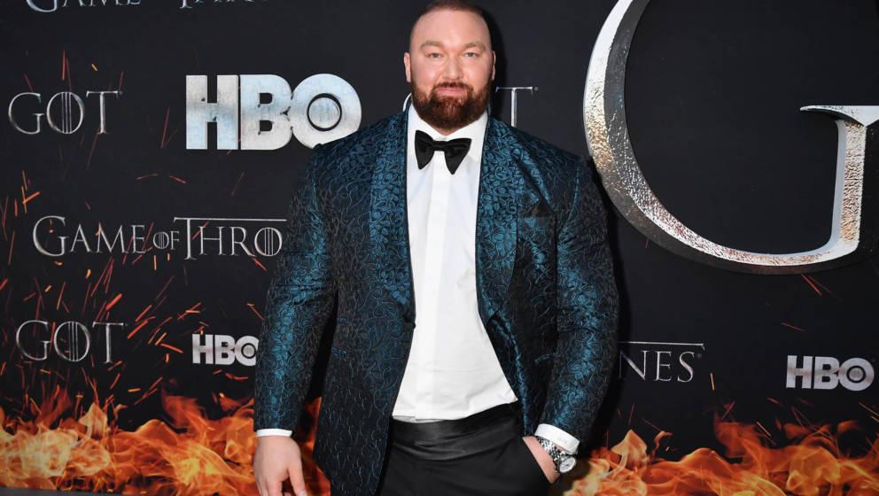 Hafþór Júlíus Björnsson bei der Premiere der 8.Staffel für 'Game Of Thrones'