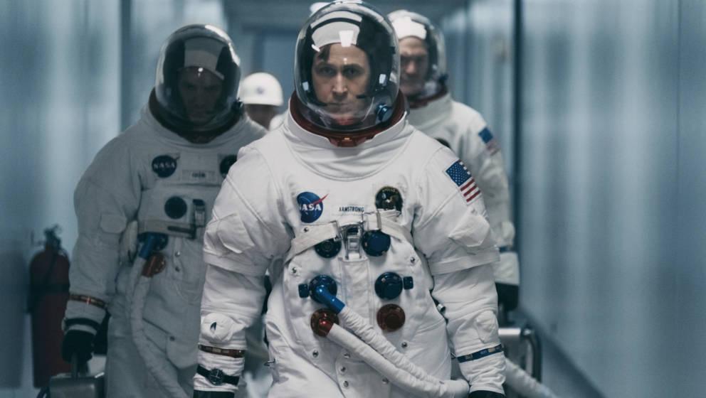Ryan Gosling in 'Aufbruch zum Mond'. Den Film gibt es ab diesem Monat bei Amazon Prime Video zu sehen.