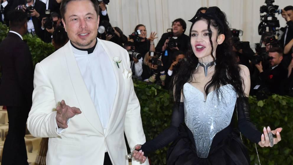 Elon Musk und Grimes bei der Met Gala (2018)