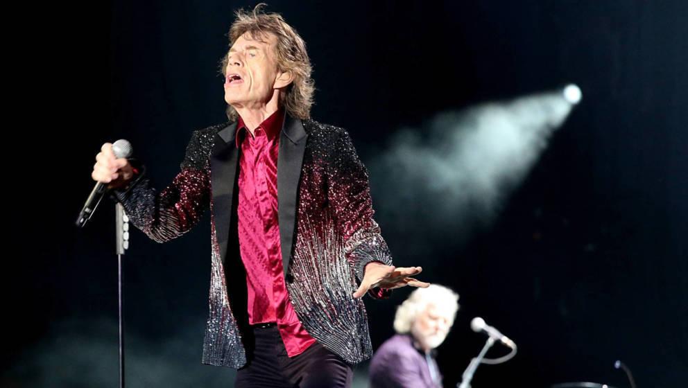 Die Rolling Stones live im Ciudad Deportiva am 25. März 2016 in Havana, Kuba