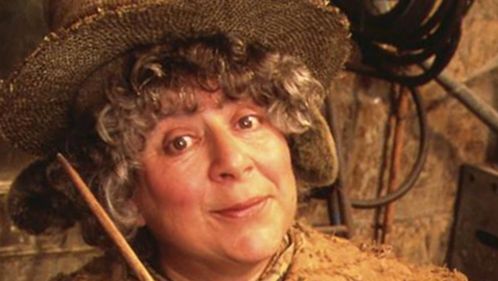 "Miriam Margolyes als Professorin Sprout in der ""Harry Potter""-Saga"