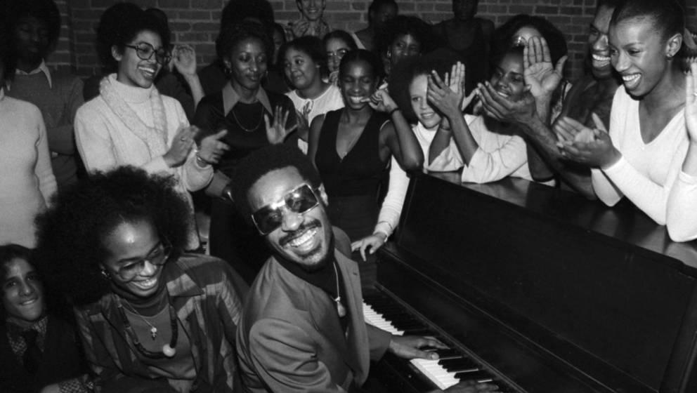 Stevie Wonder wusste, wie er sein Publikum unterhalten konnte