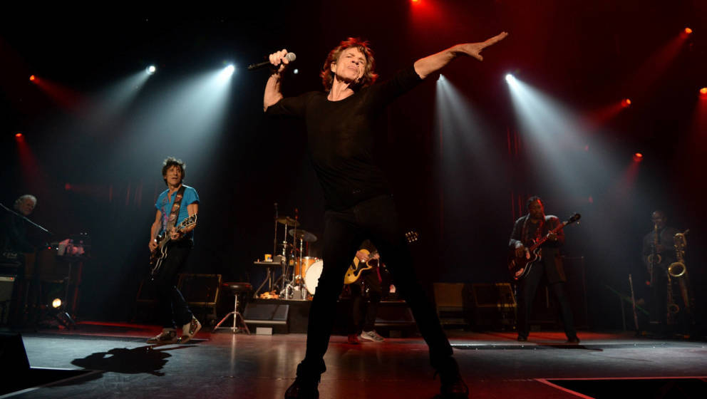 Die Rolling Stones live im Fonda Theatre in Hollywood (2015)