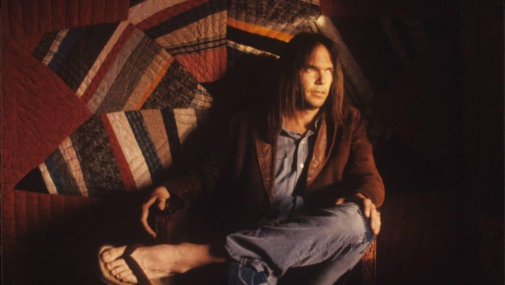 """Neil Young zur Zeit seiner Aufnahmen von """"Homegrown"""""""