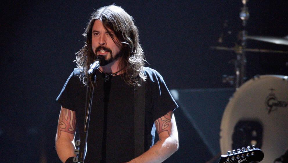 Dave Grohl, Sänger der Foo Fighters im Jahr 2008