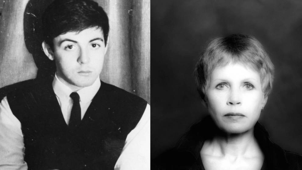 Paul McCartney und Beatles-Fotografin Astrid Kirchherr