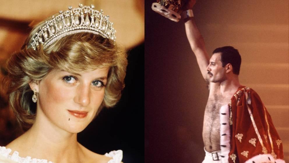 Kannten und mochten sich: Lady Diana und Freddie Mercury