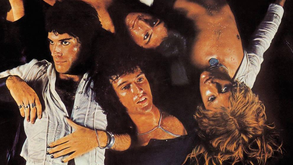 """Das epochale Cover von """"Sheer Heart Attack"""", gestaltet von Mick Rock"""