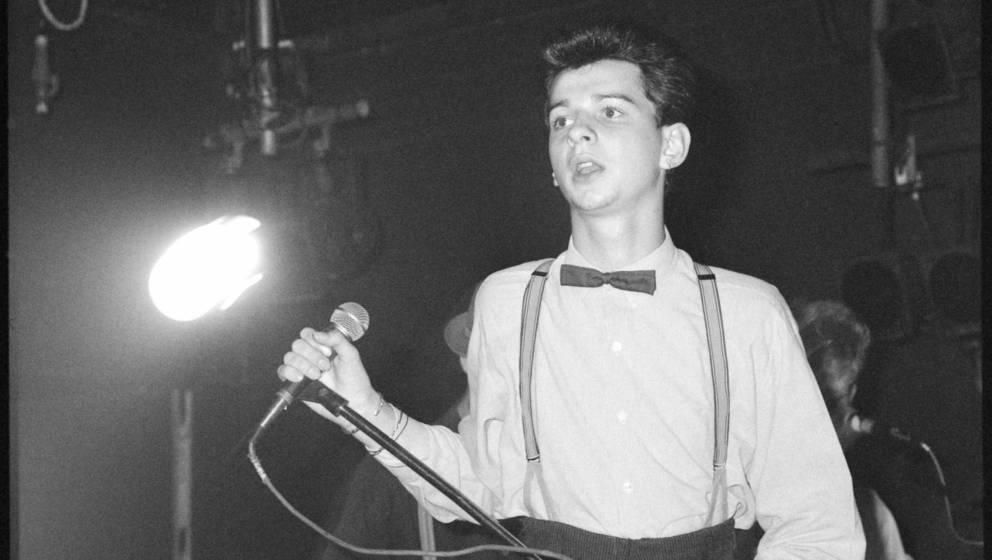 Dave Gahan, Depeche Mode, 1981