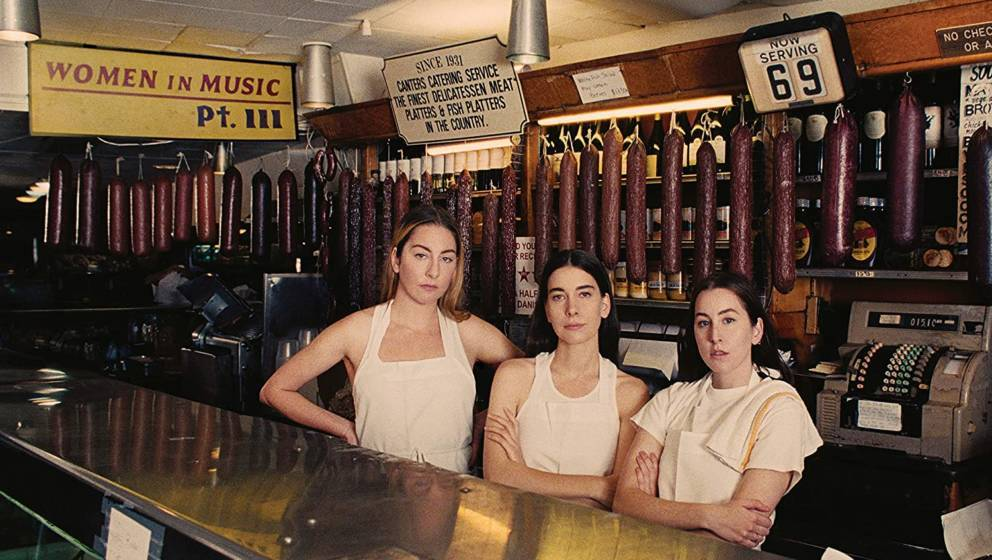 "Cover-Artwork zu "" Women in Music Pt.III"" von Haim"