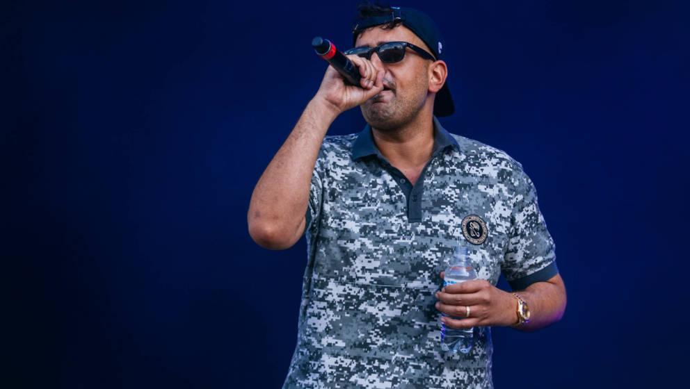 Rapper Haftbefehl beim Southside-Festival 2017