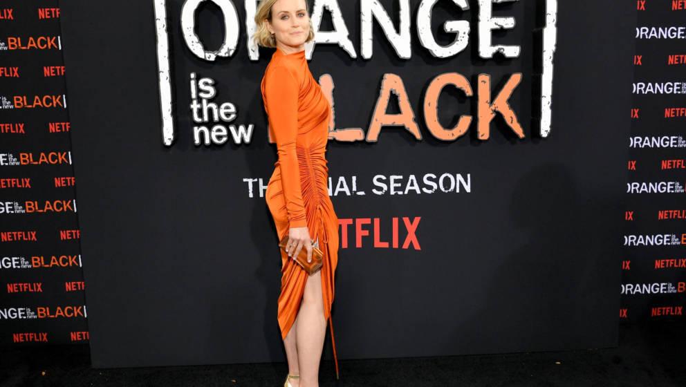 Taylor Schilling bei der Prämiere der siebten Staffel 'Orange Is The New Black' 2019 in New York
