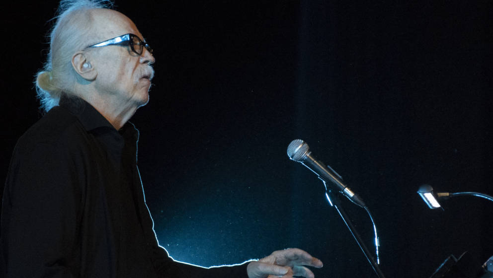 SITGES, SPAIN - OCTOBER 13:  John Carpenter performs in concert his movie themes during the Sitges Film Festival 2018 held at