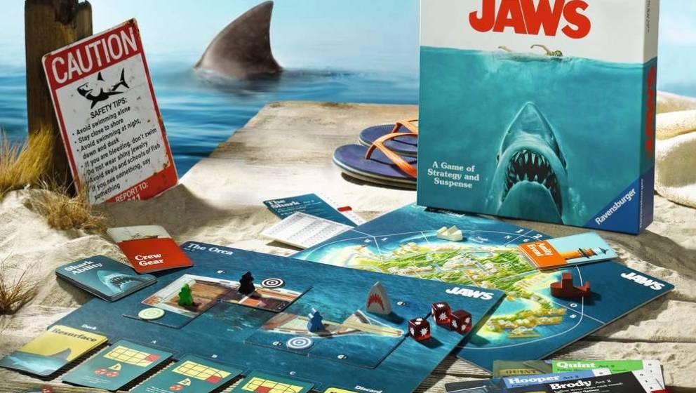 """""""Der weiße Hai"""" als Brettspiel"""