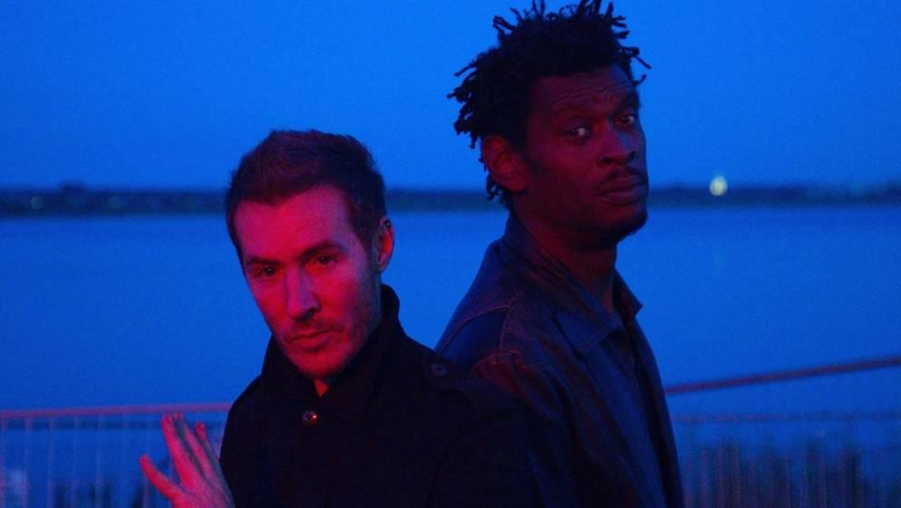 Robert Del Naja and Grant Marshall sind das britische Musiker-Duo Massive Attack. Hier im Juli 2018.