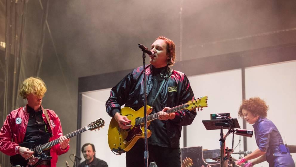 Arcade Fire, 2018 in Florida, USA.