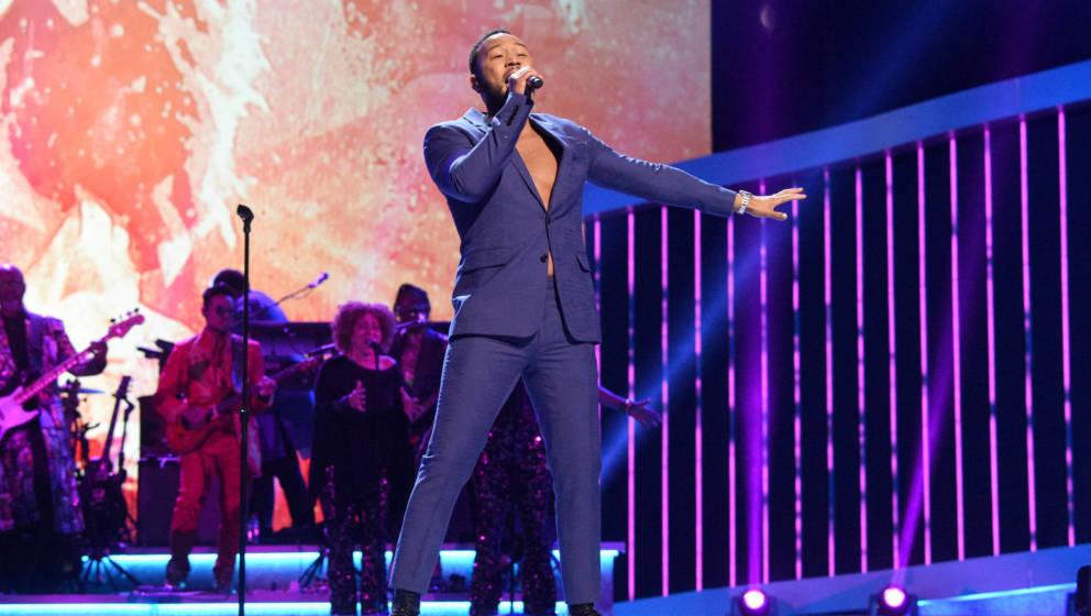 John Legend bei den diesjährigen 62. Grammy Awards