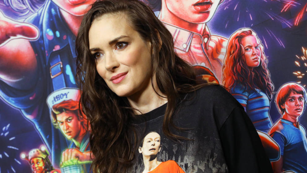 Winona Ryder, 2019 in Hollywood.