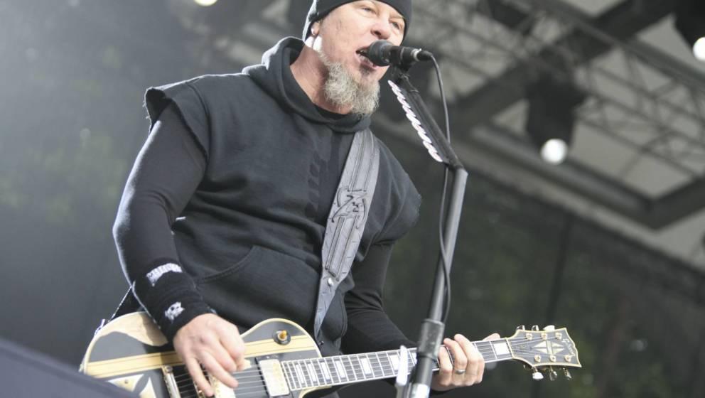 James Hetfield während des Auftritts in der Berliner Wuhlheide am 06.06.2006