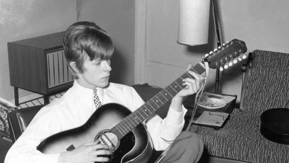 David Bowie 1966 in London