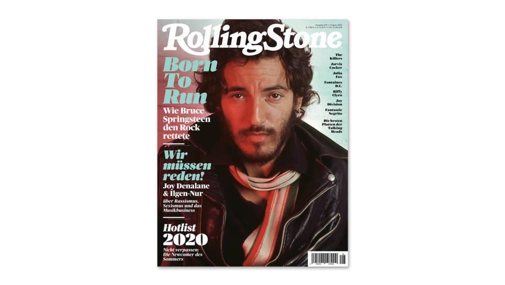 Das Cover der August-Ausgabe des ROLLING STONE: Bruce Springsteen