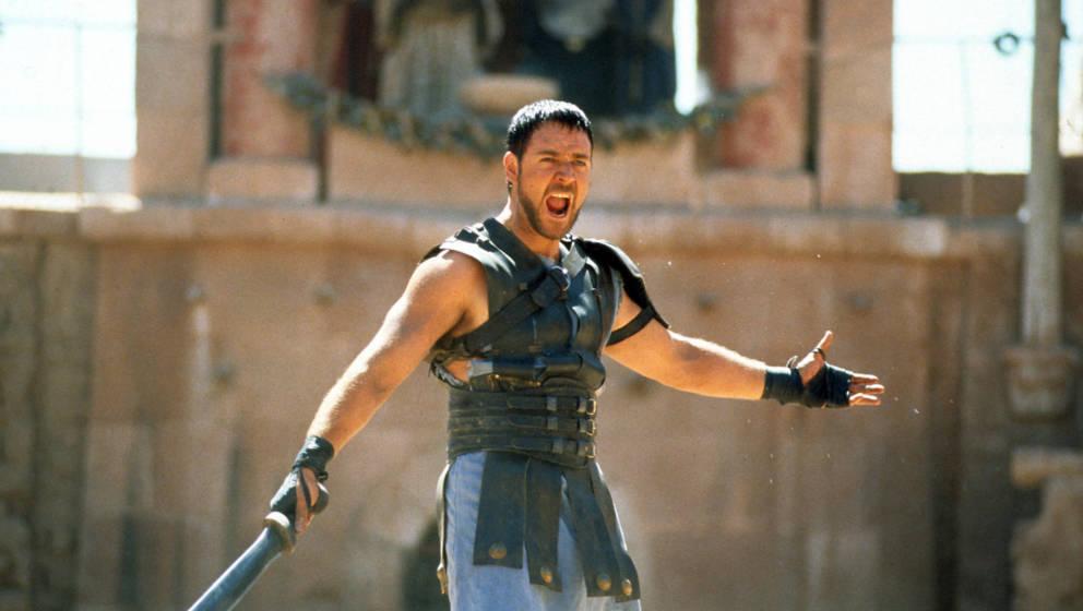 Für seine Rolle in 'Gladiator' hat Russell Crowe einen Oscar bekommen - zu Unrecht, wie er meint