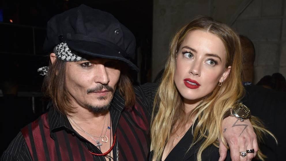 Johnny Depp und Amber Heard gemeinsam im Jahr 2016