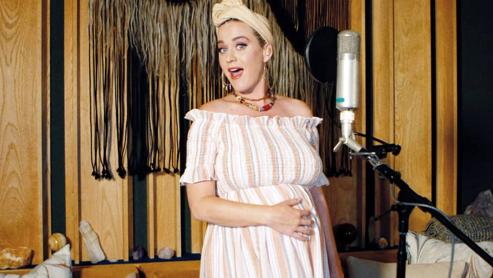 UNSPECIFIED - MAY 09: In this screengrab, Katy Perry performs during SHEIN Together Virtual Festival to benefit the COVID-19