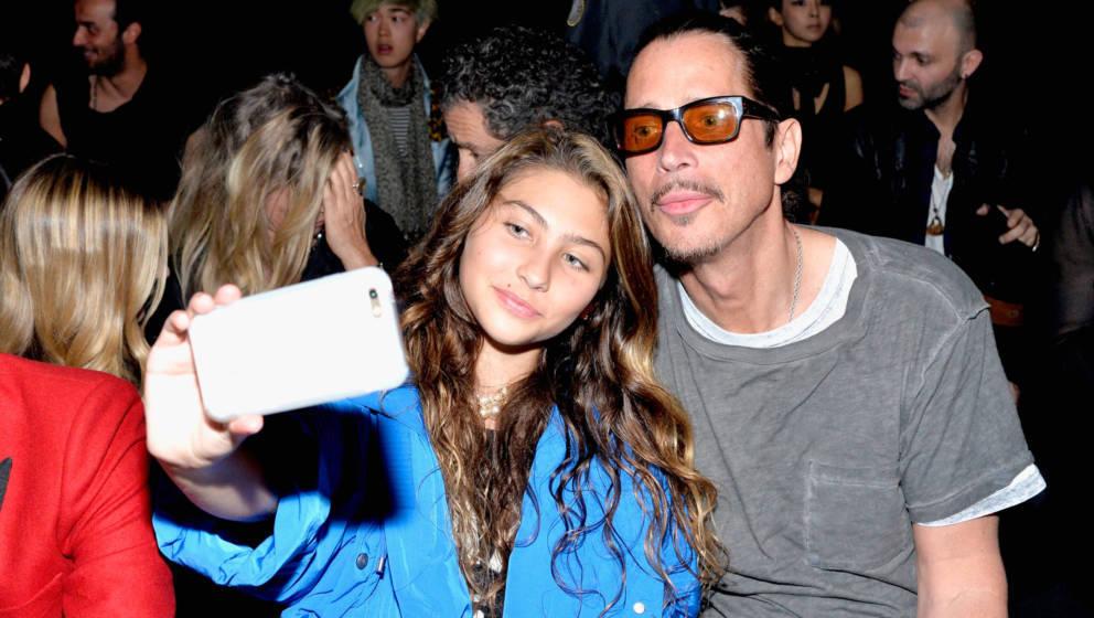 Chris Cornell und seine Tochter Toni Cornell im Jahr 2016