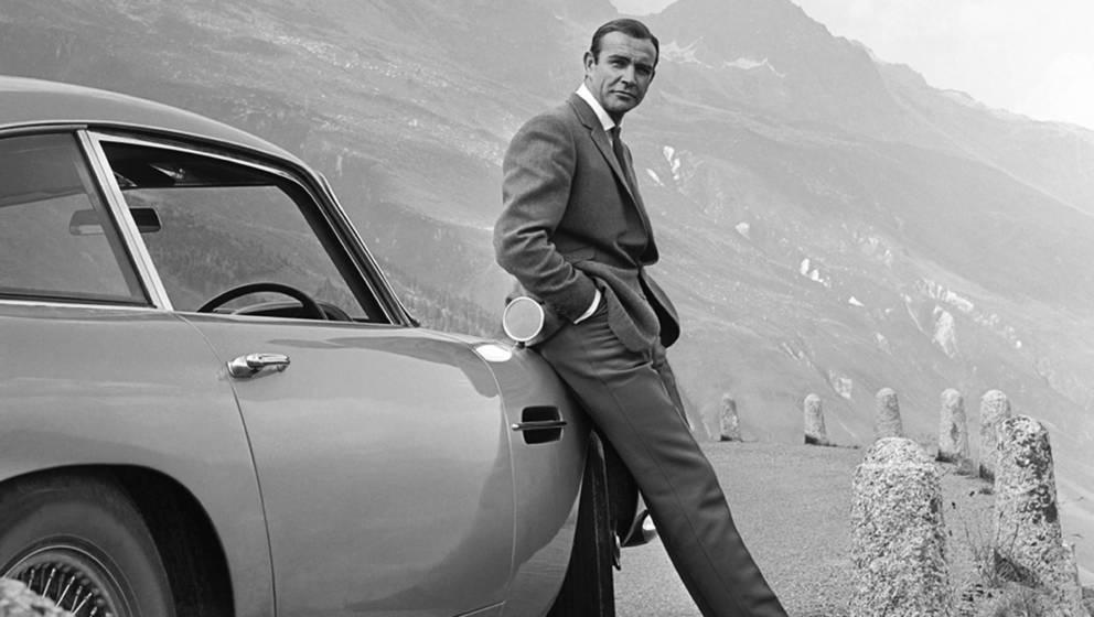 'Goldfinger'-Bond Sean Connery wurde zum besten James Bond aller Zeiten gewählt