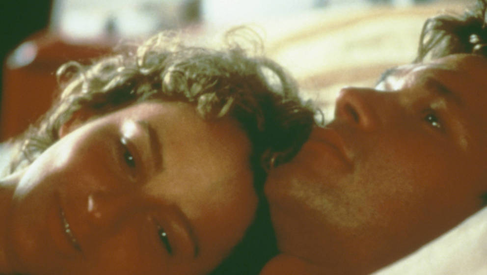 "Patrick Swayze (1952 - 2009) mit Jennifer Grey in ""Dirty Dancing"""