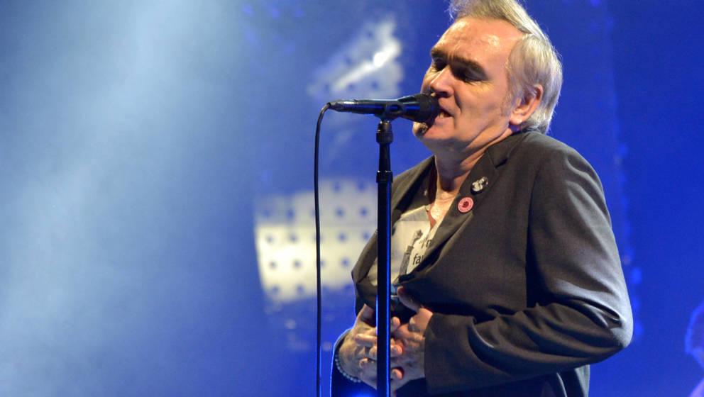 Morrissey hat behauptet, sein Label BMG habe ihn wegen Diversitäts-Bestrebungen fallen gelassen.