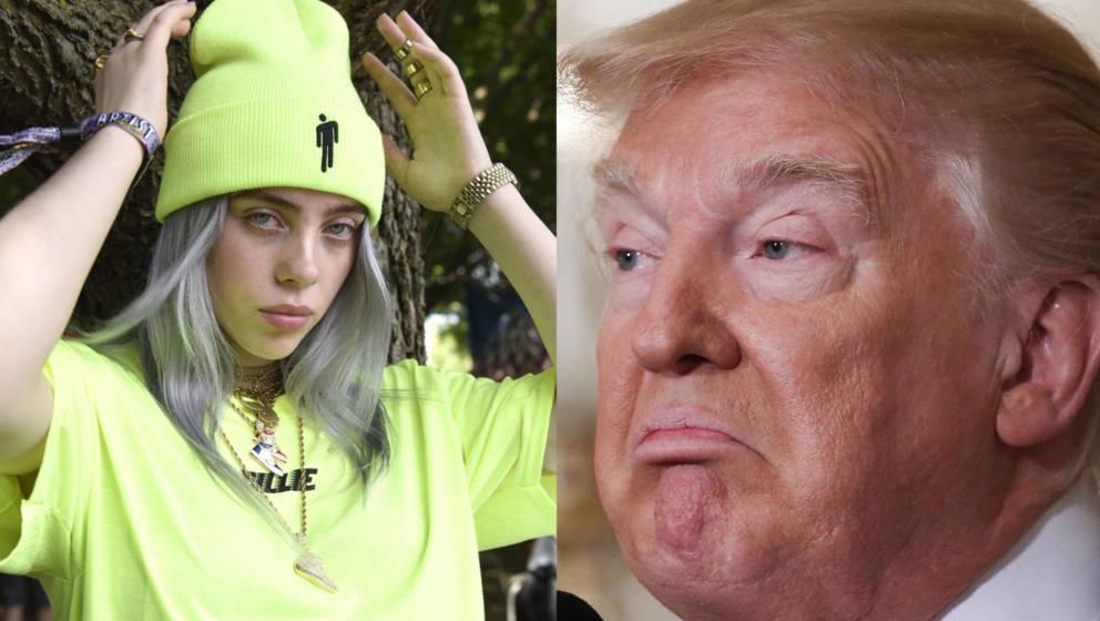 Billie Eilish ruft zur Abwahl von US-Präsident Donald Trump auf