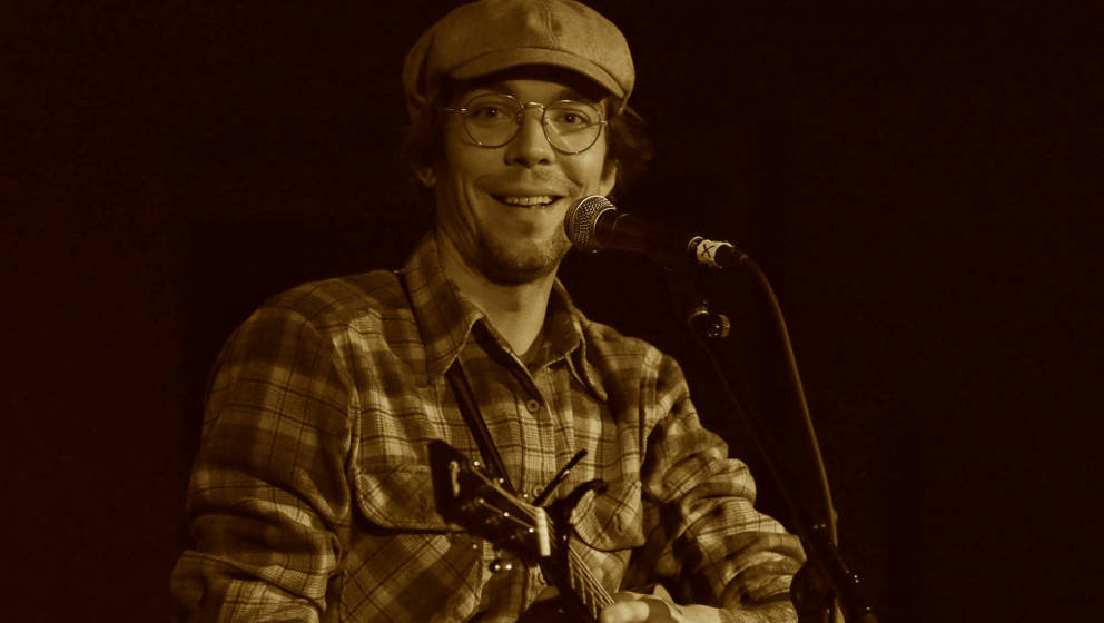 NEW YORK, NY - JANUARY 11:  Justin Townes Earle performs at City Winery on January 11, 2017 in New York City.  (Photo by Al P