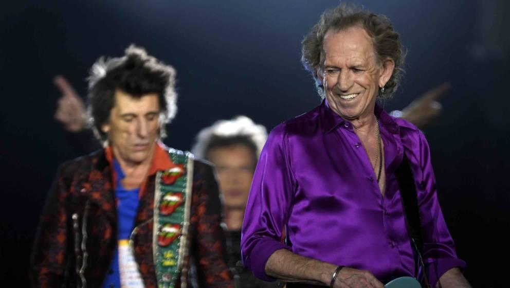 Keith Richards hat nach wie vor viel Spaß mit den Rolling Stones