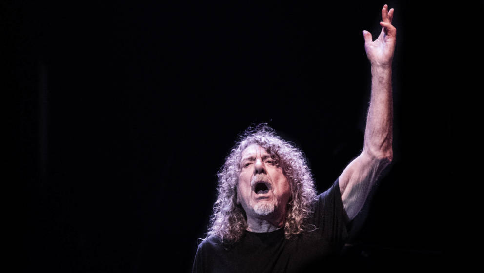 Robert Plant auf dem Roskilde Festival im Juli 2019