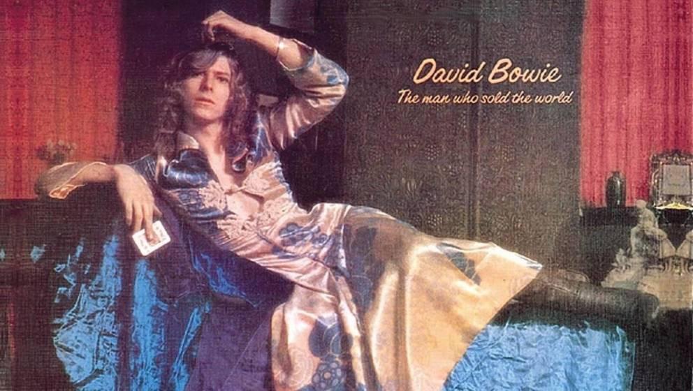 Zu gewagt für Mercury Records: David Bowie im Kleid.