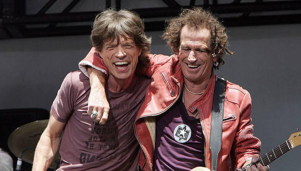 Haben tatsächlich immer noch Freude am gemeinsamen Musizieren: Keith Richards und Mick Jagger