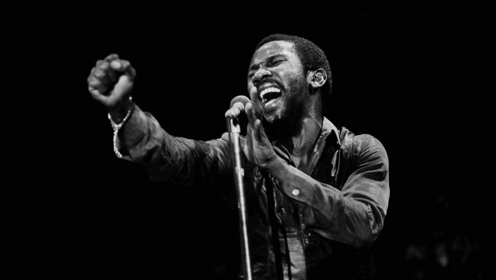 Toots Hibbert of Toots and the Maytals at Park West In Chicago, Ilinois, June 8, 1980.  (Photo by Paul Natkin/Getty Images)