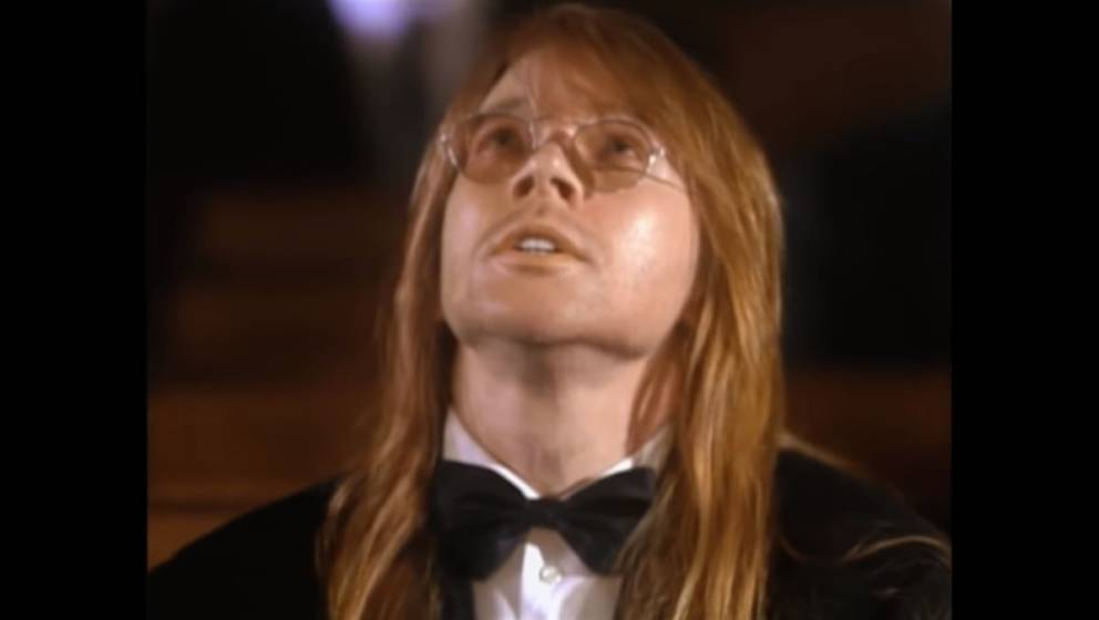 "Axl Rose im Video zu ""November Rain"""