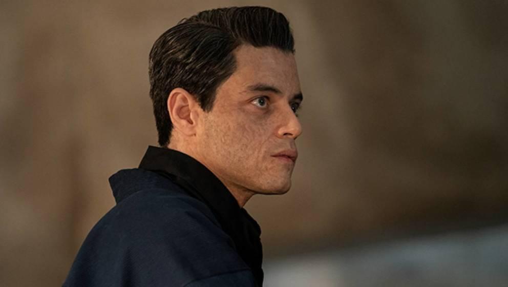 Rami Malek in seiner neuen Rolle als skrupelloser Bond-Bösewicht.