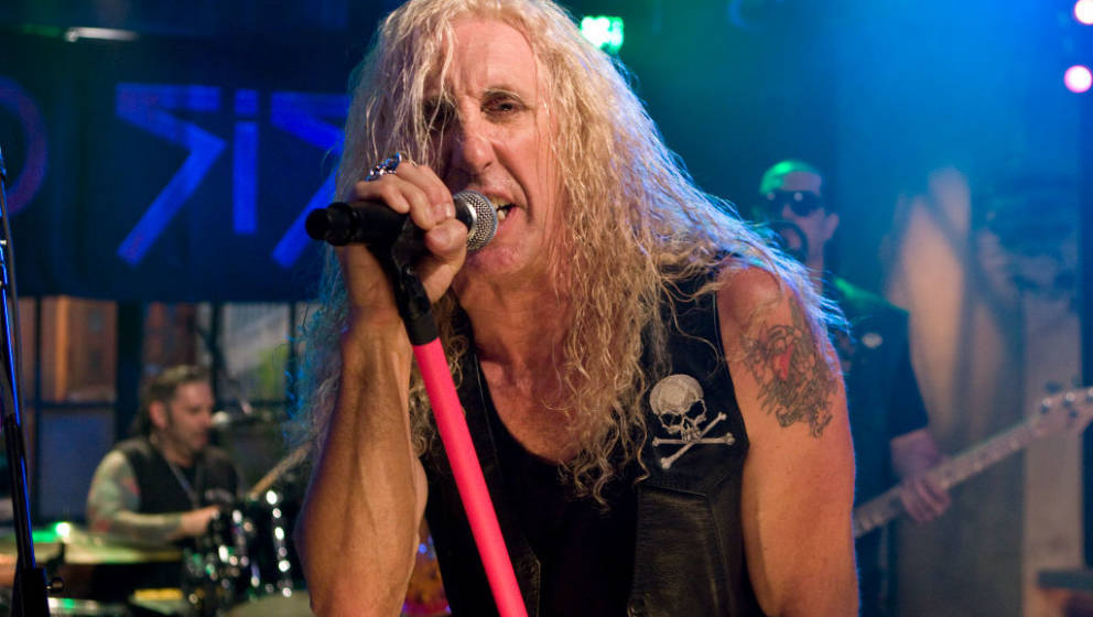 NEW YORK, NY - [October 2009]:Twisted Sister performing on Television program October 2009 in New York City. (Photo by Bill T