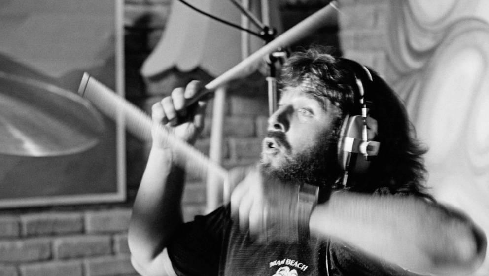 Lee Kerslake (1947-2020), hier im Studio mit Ozzy Osbourne