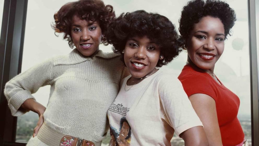 The Emotions im Jahr 1977 (v.l.n.r.): Wanda Hutchinson, Pamela Hutchinson und Sheila Hutchinson)