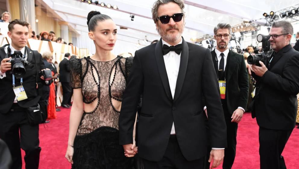 Joaquin Phoenix und Rooney Mara