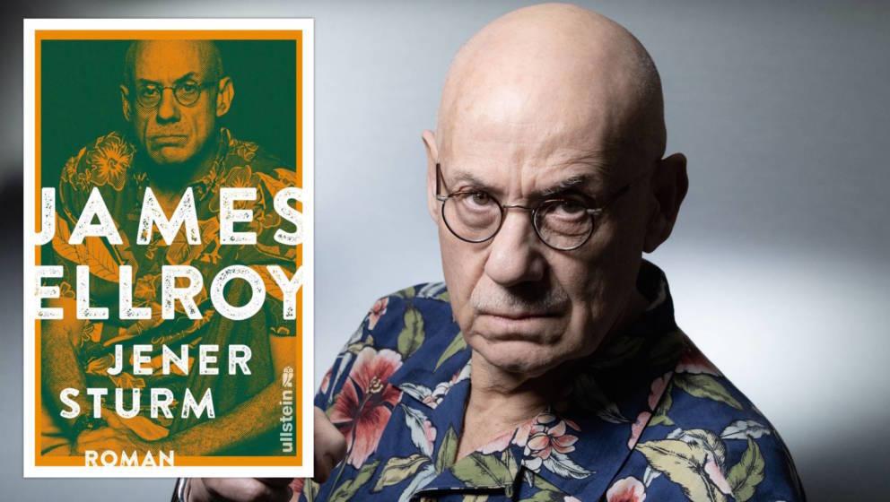 """James Ellroy und sein neues Buch """"Jener Sturm"""""""