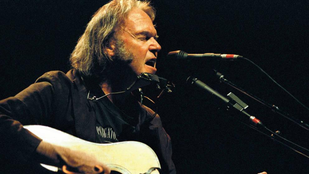 Neil Young im Jahr 2003